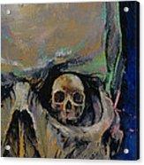 Vampire Skull Acrylic Print