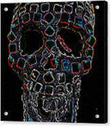 Skully Alas We Hardly Knew Ye Acrylic Print