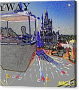 Skway Magic Kingdom Acrylic Print