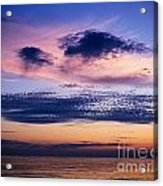 Sky After Sunset Acrylic Print