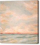Sky And Sea Acrylic Print by Debi Starr