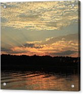 Sky And Sea Acrylic Print