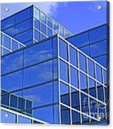Sky Blue Mirror Acrylic Print