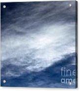 Sky Clouds Acrylic Print