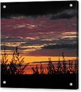 Sky Colours Acrylic Print
