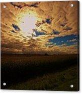 Farmland Sky Acrylic Print