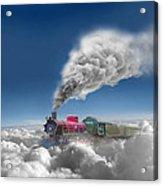 Sky Express Acrylic Print