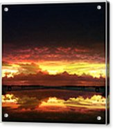 Sky Fire Siesta Key Acrylic Print