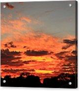 Sky Flames Acrylic Print
