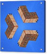 Sky Fortress Progression 2 Acrylic Print