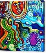 Sky Fruit Acrylic Print