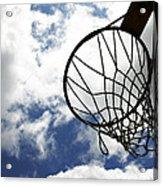 Sky Hoop Acrylic Print