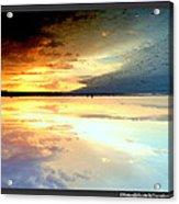 Sky Meets Water Acrylic Print