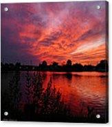Sky On Fire 2 Acrylic Print