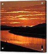 Sky On Fire Again Acrylic Print