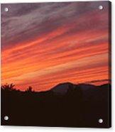 Sky Over Blue Mountain Acrylic Print