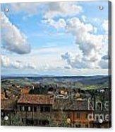 Sky Over Tuscany Acrylic Print