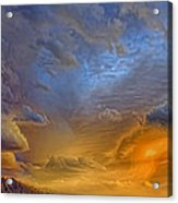 Sky Painting Photo 3621 Acrylic Print