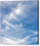 Sky Paintings IIi Acrylic Print