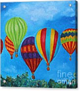 Sky Skittles Acrylic Print