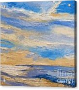 Sky At Sunset Acrylic Print