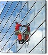 Sky Washer Acrylic Print