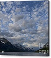 Sky Water Mountains Acrylic Print