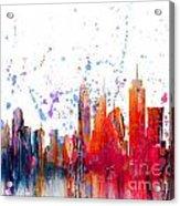 Skyline Citiscape Acrylic Print