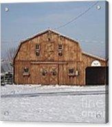 Skyline Farm Horse Barn Acrylic Print