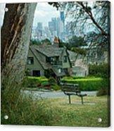 Skyline From Magnolia 4 Acrylic Print