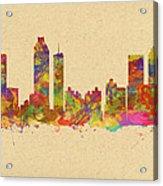 skyline of Atlanta Georgia Acrylic Print