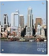 Skyline Of Seattle Acrylic Print