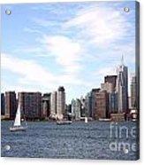 Skyline Of Toronto Ontario Acrylic Print