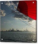 Skyline Sail Acrylic Print