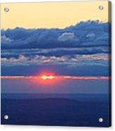 Skyline Sunrise Acrylic Print by Candice Trimble