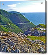 Skyline Trail And Road Through Cape Breton Highlands Np-ns Acrylic Print