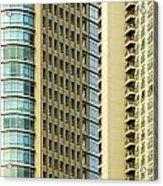 Skyscraper Closeup Acrylic Print