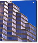 Skyscraper Photography - Downtown - By Sharon Cummings Acrylic Print