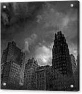 Skyscrapers Acrylic Print by Mike Horvath