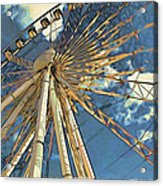 Skywheel At Niagara View Acrylic Print