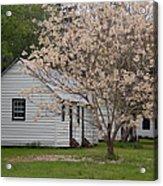 Slave Cabins At Magnolia Plantation - Summerville Sc Acrylic Print