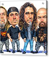Slayer Acrylic Print