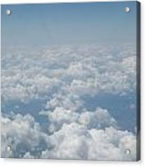 Sleep On A Bed Of Clouds Acrylic Print