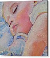 Sleeping Baby Acrylic Print