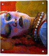 Sleeping Beauty In Waiting Acrylic Print