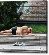 Sleeping Beauty On The High Line Acrylic Print