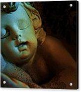 Sleeping Cherub #1 Acrylic Print