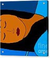 Sleeping Acrylic Print