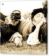 Sleeping Soldiers Acrylic Print