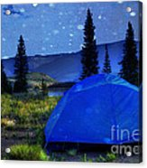 Sleeping Under The Stars Acrylic Print